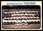 1973 O-Pee-Chee #654   Twins Team Front Thumbnail