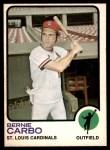 1973 O-Pee-Chee #171  Bernie Carbo  Front Thumbnail