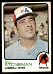 1973 O-Pee-Chee #254  Bill Stoneman  Front Thumbnail