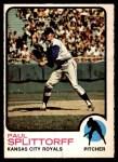 1973 O-Pee-Chee #48  Paul Splittorff  Front Thumbnail