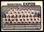 1973 O-Pee-Chee #576   Expos Team Front Thumbnail