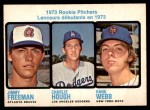 1973 O-Pee-Chee #610   -  Jimmy Freeman / Charlie Hough / Hank Webb Rookie Pitchers Front Thumbnail