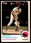 1973 O-Pee-Chee #90  Brooks Robinson  Front Thumbnail
