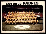 1973 O-Pee-Chee #316   Padres Team Front Thumbnail