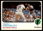 1973 O-Pee-Chee #302  Terry Crowley  Front Thumbnail