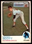 1973 O-Pee-Chee #553  Mickey Scott  Front Thumbnail