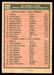 1975 O-Pee-Chee #312   -  Nolan Ryan / Steve Carlton Strikeout Leaders Back Thumbnail