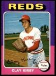 1975 O-Pee-Chee #423  Clay Kirby  Front Thumbnail