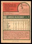 1975 O-Pee-Chee #433  Larry Demery  Back Thumbnail
