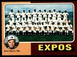 1975 O-Pee-Chee #101   -  Gene Mauch Expos Team Checklist Front Thumbnail