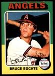 1975 O-Pee-Chee #392  Bruce Bochte  Front Thumbnail