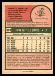 1975 O-Pee-Chee #381  John Curtis  Back Thumbnail