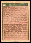1975 O-Pee-Chee #190   -  Bobby Shantz / Hank Sauer 1952 MVPs Back Thumbnail