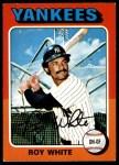 1975 O-Pee-Chee #375  Roy White  Front Thumbnail