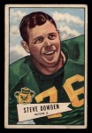 1952 Bowman Small #40  Steve Dowden  Front Thumbnail