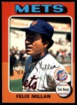 1975 O-Pee-Chee #445  Felix Millan  Front Thumbnail