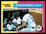 1975 O-Pee-Chee #462   -  Walter Alston / Joe Ferguson 1974 World Series - Game #2 Front Thumbnail