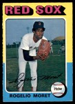 1975 O-Pee-Chee #8  Rogelio Moret  Front Thumbnail