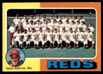 1975 O-Pee-Chee #531   -  Sparky Anderson Reds Team Checklist Front Thumbnail