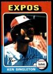 1975 O-Pee-Chee #125  Ken Singleton  Front Thumbnail