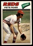 1977 O-Pee-Chee #240  Pete Rose  Front Thumbnail