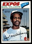 1977 O-Pee-Chee #252  Earl Williams  Front Thumbnail