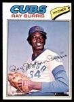 1977 O-Pee-Chee #197  Ray Burris  Front Thumbnail