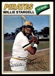 1977 O-Pee-Chee #25  Willie Stargell  Front Thumbnail