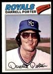 1977 O-Pee-Chee #116  Darrell Porter  Front Thumbnail