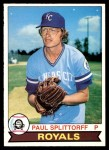 1979 O-Pee-Chee #90  Paul Splittorff  Front Thumbnail