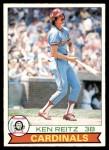1979 O-Pee-Chee #307  Ken Reitz  Front Thumbnail