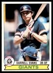 1979 O-Pee-Chee #215  Darrell Evans  Front Thumbnail
