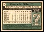 1979 O-Pee-Chee #39  Jim Bibby  Back Thumbnail