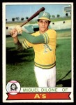 1979 O-Pee-Chee #256  Miguel Dilone  Front Thumbnail