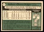 1979 O-Pee-Chee #67  Duane Kuiper  Back Thumbnail