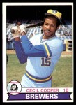 1979 O-Pee-Chee #163  Cecil Cooper  Front Thumbnail