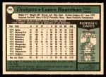 1979 O-Pee-Chee #193  Lance Rautzhan  Back Thumbnail