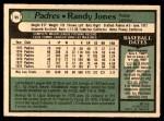 1979 O-Pee-Chee #95  Randy Jones  Back Thumbnail