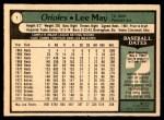 1979 O-Pee-Chee #1  Lee May  Back Thumbnail