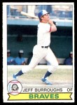 1979 O-Pee-Chee #124  Jeff Burroughs  Front Thumbnail
