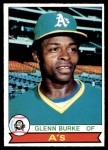 1979 O-Pee-Chee #78  Glenn Burke  Front Thumbnail