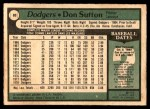 1979 O-Pee-Chee #80  Don Sutton  Back Thumbnail