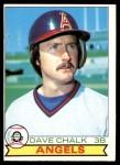 1979 O-Pee-Chee #362  Dave Chalk  Front Thumbnail
