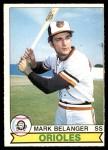 1979 O-Pee-Chee #27  Mark Belanger  Front Thumbnail
