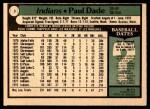 1979 O-Pee-Chee #3  Paul Dade  Back Thumbnail