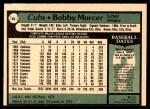 1979 O-Pee-Chee #63  Bobby Murcer  Back Thumbnail