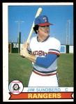 1979 O-Pee-Chee #53  Jim Sundberg  Front Thumbnail