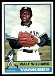 1976 O-Pee-Chee #123  Walt Williams  Front Thumbnail