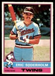 1976 O-Pee-Chee #214  Eric Soderholm  Front Thumbnail
