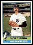 1976 O-Pee-Chee #248  Dick Tidrow  Front Thumbnail